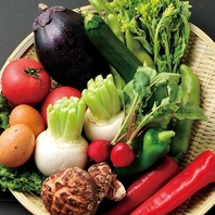 農家から直送の旬野菜★
