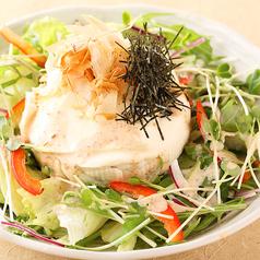 料理メニュー写真吟豆腐サラダ