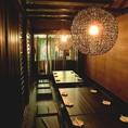 【ご宴会オススメポイント3】地下鉄梅田駅直結。6名様から最大50名様まで可能な雰囲気の違った様々な個室有り。