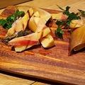 料理メニュー写真タケノコの炭焼き ローズマリー風味