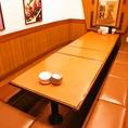各種ご宴会向けの掘りごたつ個室のお席。大人数利用可◎【明大前/居酒屋/飲み放題】
