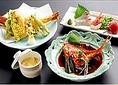 【おすすめメニュー】冬にうれしい、ホッとする味わいの金目鯛の煮つけも楽しめる【特天ぷらと金目煮つけ御膳】