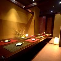 ◆宴会・飲み会にピッタリの和モダン個室でおもてなし◆
