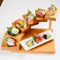 昭和食堂名物「階段盛合わせ」は不動の人気!!!ぜひ1度ご賞味ください!!