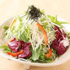 料理メニュー写真大根サラダ