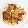料理メニュー写真鶏もも肉のガーリックペッパー焼き