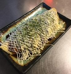 料理メニュー写真チーズ入りとんぺい焼き