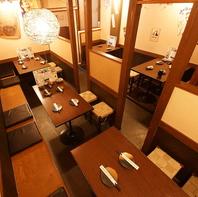 飲み会や宴会にぴったり!2階には個室席もございます♪