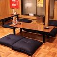 2階:4名様のお座敷席です。我が家のようにくつろげる雰囲気です。