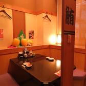 【プライベート空間】2名様用のお席♪ゆっくり食事を楽しめる広々テーブル♪-魚鮮水産 さかなや道場 新潟駅南2号店-