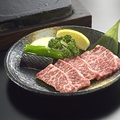 料理メニュー写真国産牛の溶岩焼き