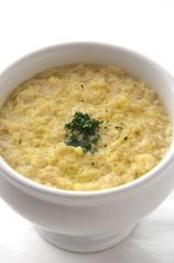 ローマ風ガーリックスープ
