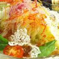 料理メニュー写真家座冨特製サラダ