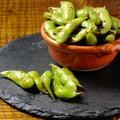 料理メニュー写真枝豆のバターソテー