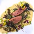 料理メニュー写真鴨胸肉のロースト