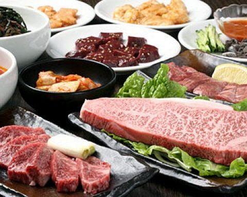 【平日ディナー限定!祝日除く】焼肉100分食べ放題!あれこれ食べて大満足!3980円(税込)♪