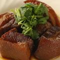 料理メニュー写真豚肉の角切醤油煮