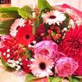 Weddingはご希望で花束を無料でご用意♪