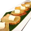 料理メニュー写真いぶりがっこ クリームチーズ添え