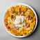 料理メニュー写真半熟卵と生ハムのビスマルクピッツァ
