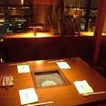 4名テーブル席×3卓