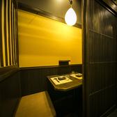 【完全個室】落ち着きある和モダンな店内も大人気!