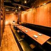 職場の仲間との飲み会や地域の集まりなど多種多様な場面で活躍する個室。32名様までご着席いただけます。ソファーにゆったりと腰をおろしてすみれ自慢の料理をご堪能ください。