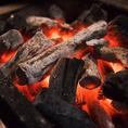 【土佐備長炭使用】.~炭火焼きのこだわり~ 紀州備長炭と並び、火力、火持ち共に最高級品質の炭です。燃やしても臭いが無く、燃えるとき遠赤外線を放ち、水分を発しないため、うなぎの表面がぱりっと焼け、旨みを逃がしません。