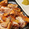 料理メニュー写真利根赤鶏の岩塩焼き