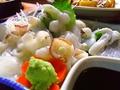 料理メニュー写真生たこ刺身(三原やっさタコ)