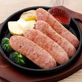 料理メニュー写真黒こしょうソーセージと北海道ポテト