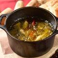 料理メニュー写真1番人気!海老とキノコのアヒージョ