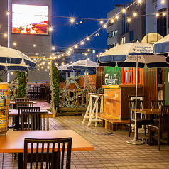 NUTS SQUARE BEER GARDEN ナッツスクエア ビアガーデンの特集写真
