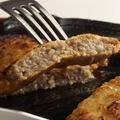 料理メニュー写真ハンバーグセット(スープ、メイン料理、サラダ、ライス)