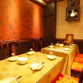 6名様~12名様まで可能な個室!少人数でも、完全個室の落ち着いた雰囲気で、おいしい中華を満喫できるのが嬉しい♪
