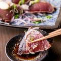 料理メニュー写真土佐名物 鰹藁焼き塩たたき 小1人前