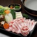 料理メニュー写真白金豚の鍋