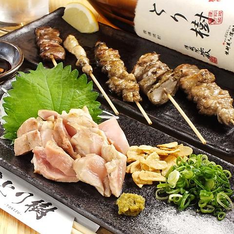 新鮮な朝引き鶏を使用×弁天町駅から徒歩3分