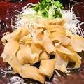 料理メニュー写真【刺身】ミル貝の刺身