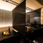 12名様迄のお客様であれば、ソファー&テーブル個室にてプライベート空間をお楽しみ頂けます。