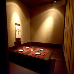 【4名様個室充実◎】4名様用の個室多数ご用意しております♪全席個室のプライベート空間は当店自慢♪