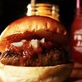 料理メニュー写真オリジナルハンバーガー