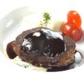 料理メニュー写真こだわりのハンバーグステーキ
