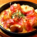 料理メニュー写真ジャガベーコンチーズ焼き