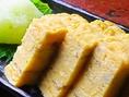 伝統の味 だし巻き玉子は絶品です!