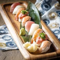 寿司10貫盛り合わせ