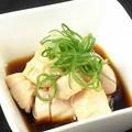 料理メニュー写真ミノの湯引きポン酢