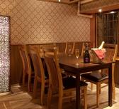 6名様のテーブル個室★掘りゴタツ個室もございます。