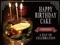 記念日や誕生日などにはメッセージ付デザートプレート♪