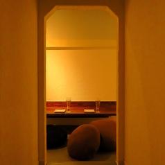 【個室 座敷席】2名~4名収容